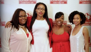 2014 Recipients of the Ashton L. O'Guinn Scholarship Award  (Left to Right) Kamecya Gardner, Leona Anderson, Dewanna O'Guinn, Chrishae Anderson.  Note pictured:  Sheldon Ledbetter